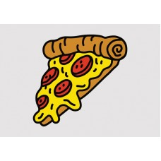 Pizza Vinyl Sticker