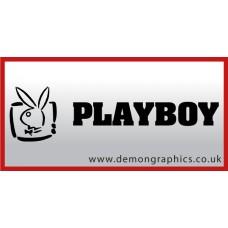 Playboy Vinyl Sticker 3