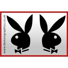 Playboy Vinyl Sticker 6 (Pair)