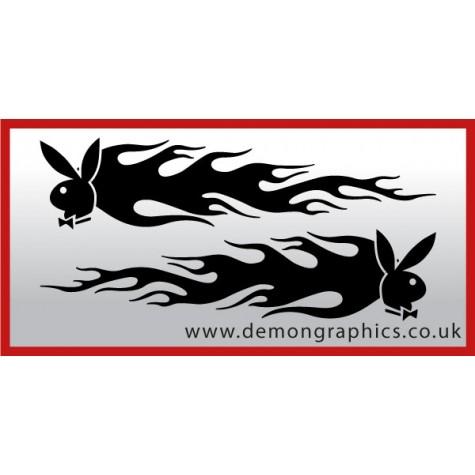 Logo flames : Playboy