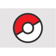 Pokeball Vinyl Sticker