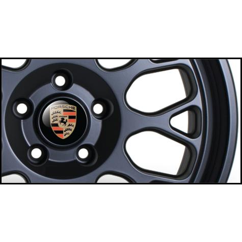 Porsche Wheel Badges (Set of 4)