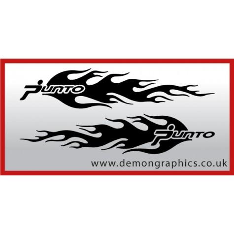 Logo flames : Punto