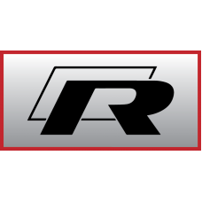 VW R Badge Vinyl Sticker