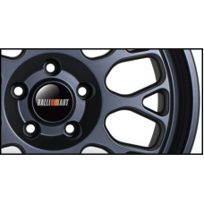 Ralliart Wheel Badges (Set of 4)