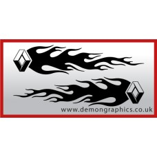 Logo flames : Renault