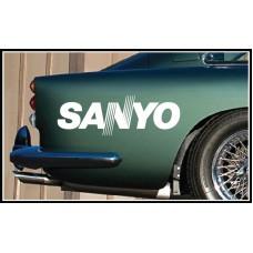 Sanyo Vinyl Sticker