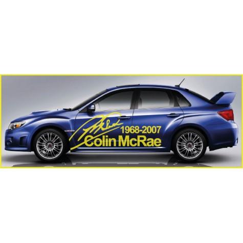Subaru McRae Signature Side Graphics