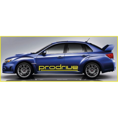 Subaru Prodrive Side Graphics