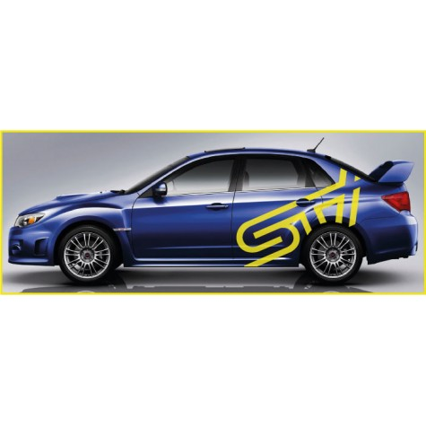 Subaru STI Side Graphics