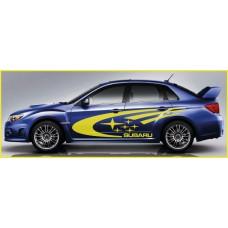 Subaru Impreza Swoosh Side Graphics