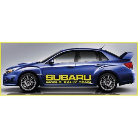 Subaru WRC Side Graphics