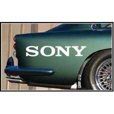 Sony Vinyl Sticker