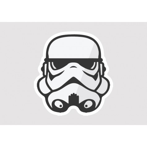 Storm Trooper Vinyl Sticker