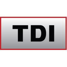 VW TDI Vinyl Sticker