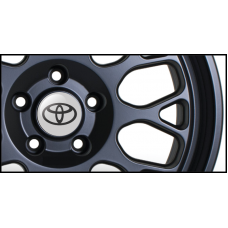 Toyota Wheel Badges (Set of 4)