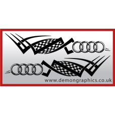 Logo tribal : Audi £19.99 both sides