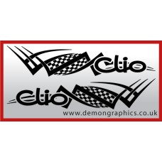 Logo tribal : Clio £19.99 both sides