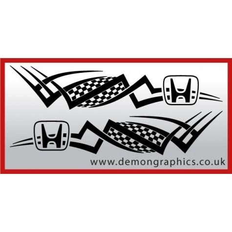 Logo tribal : Honda £19.99 both sides