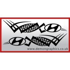 Logo tribal : Hyundai £19.99 both sides