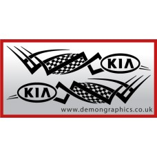 Logo tribal : Kia £19.99 both sides