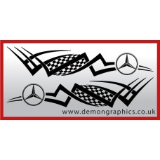 Logo tribal : Mercedes £19.99 both sides