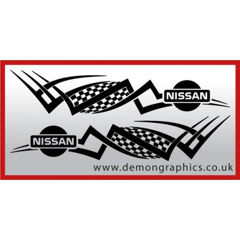 Logo tribal : Nissan £19.99 both sides