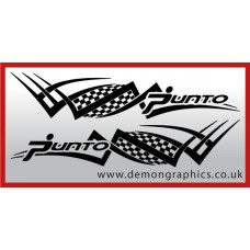 Logo tribal : Punto £19.99 both sides