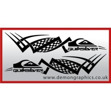 Logo tribal : Quiksilver £19.99 both sides