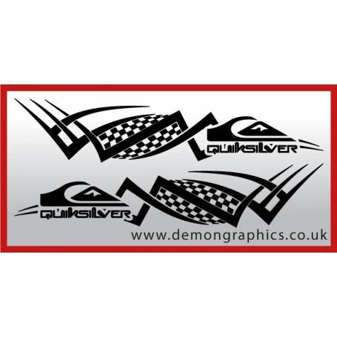 Logo tribal : Quiksilver £19.99 both sides