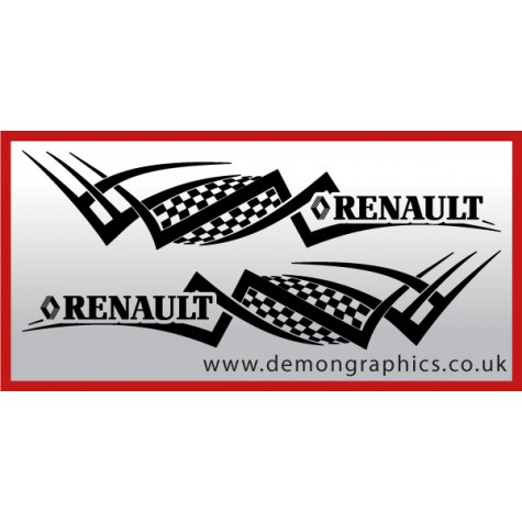 Logo tribal : Renault £19.99 both sides