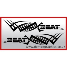 Logo tribal : Seat £19.99 both sides