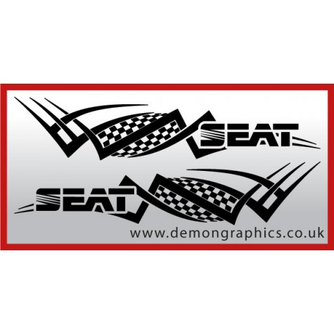 Logo tribal : Seat £19.99 both sides