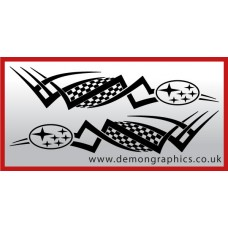Logo tribal : Subaru £19.99 both sides