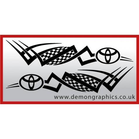Logo tribal : Toyota £19.99 both sides