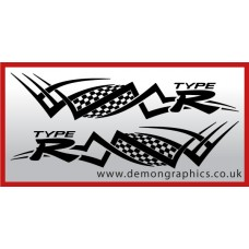 Logo tribal : Type R £19.99 both sides