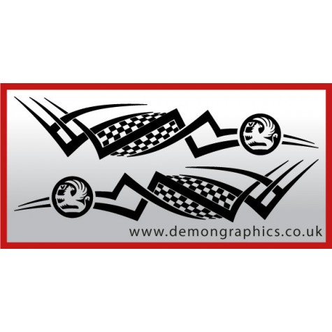 Logo tribal : Vauxhall £19.99 both sides