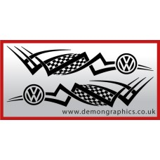 Logo tribal : VW £19.99 both sides