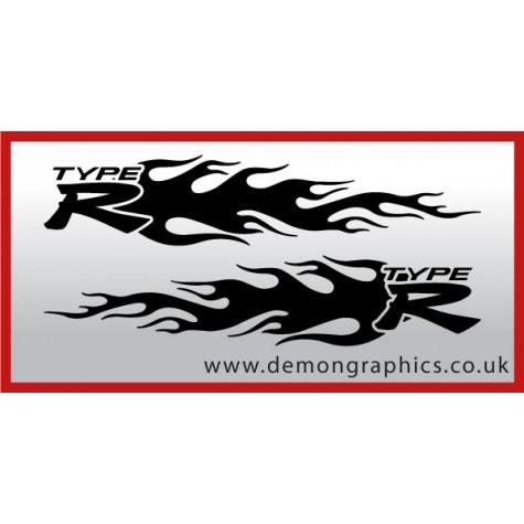 Logo flames : Type R