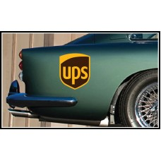 UPS Vinyl Sticker
