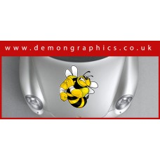 Bonnet Sticker - Bad Bee