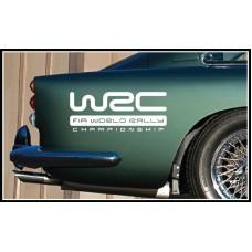 WRC Vinyl Sticker