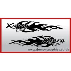 Logo flames : Xsara Picasso
