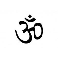 Hindu Symbol Vinyl Sticker