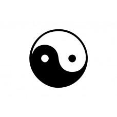 Ying & Yang Vinyl Sticker