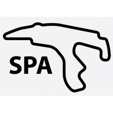 Spa Francorchamps Formula 1 Sticker