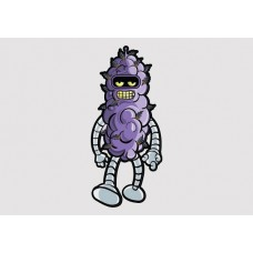 Purple Haze Bender Vinyl Sticker
