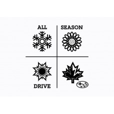 Subaru Graphic - All Season Drive