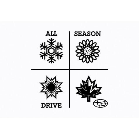 Subaru Graphic - All Season Drive