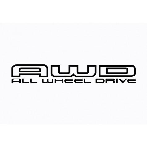 Subaru Graphic -  All Wheel Drive